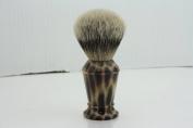 Haryali London Hand Assembled Imitation Horn Handle (Silver Tip Badger Hair Shaving Brush) Sophist Collection & Design By Haryali London.