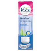 Veet 100 ml Body Curv Bikini and Underarm Hair Removal Cream