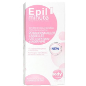 Ready to Use Wax Strips For Sensitive Areas Normal Skin 20 Pack + 4 Finish Wipes