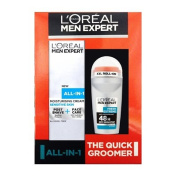 L'Oreal Paris Men Expert The QUICK GROOMER All-In-One Duo Gift Set SENSITIVE Skin