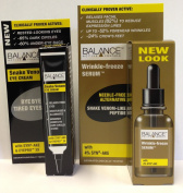 Balance Wrinkle Freeze Serum 30ml + Balance Snake Venom Eye Cream 15ml