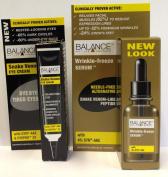 Balance Wrinkle Freeze Serum 30ml + Balance Snake Venom Eye Cream 15ml