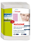 ALCLEAR 200803 Make-Up Removal Cloths Beauty Set - 4 Piece