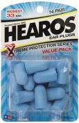 Hearos Xtreme Protection, 14-Pair Foam