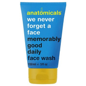 Anatomicals Face Wash, We Never Forget a Face Memorably Good Daily 150 ml