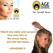 The Instant FaceLift Band by Age Reverser TAPES NOT REQUIRED Uses a Hair Band !!