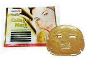 30 x New Infinitive Beauty Crystal 24K Gold Powder Gel Collagen Face Mask Masks Sheet Patch, Anti Ageing Ageing, Skincare, Anti Wrinkle, Moisturising, Moisture, Hydrating, Uplifting, Whitening, Remove Blemishes & Blackheads Product. Firmer, Smoother, T ..