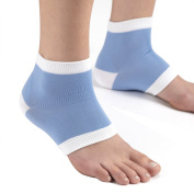 Pro11 Universal Gel Heel Protection Socks - Relieves Pain by Reducing Friction Over the Heel