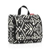 Reisenthel Toiletbag XL, Toiletry, Wash and Cosmetics Bag, Hopi Black, WO7034