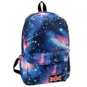 2014 Hot Sale New Fashion Unisex Galaxy Pattern Travel Backpack Canvas Leisure Bags School Bag Rucksack
