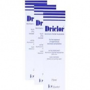 Driclor Under Arm Anti Perspirant Roll On 75ml x 3 bottles