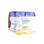 Fortisip Compact Vanilla drink - 4 x 125ml