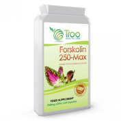 Forskolin 250-Max 250mg 120 Capsules - Pure Coleus Forskohlii Root Extract