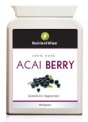 Acai Berry Weight Loss Capsules 100% Pure -Natural Diet Slimming Pills Supplement -Lose Weight Quickly
