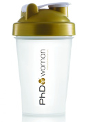 PHD Woman 500ml Clear and Gold Shaker