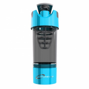 Cyclone Cup Shaker Protein Mixer Bottle 590ml