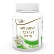 Artemisia annua extract 400mg 100 Capsules (sweet wormwood, artemisinin) Vita World German Pharmacy Production