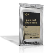 Calcium And Vitamin D3 400mg Supplement 90 Tablets - Bones, Teeth And Gums