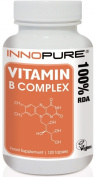 Innopure® Vitamin B-Complex | Contains 100% RDA of all Eight B Vitamins in 1 Daily Tablet | 120 Tablets, 4 Months Supply