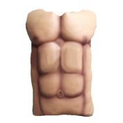 leading-star Halloween Fake Muscle Chest Skin