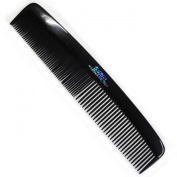 2 x Hair Comb Black Ladies Gents Hair Style Plastic Medium Size Combs Moustache Sideburns Perfect Trimmer Comb