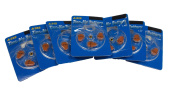 FREE Size 312 Hearing Aid Batteries - Unused Opened Packs of 20 Cells Just Pay Postage