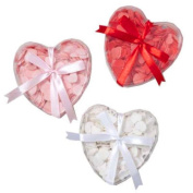HEART SHAPE SOAP CONFETTI, ASSORTED - colours VARY