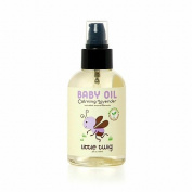 Little Twig Organic Baby Oil, Lavender, Lemon & Tea Tree 4 fl oz