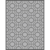 Safavieh CY6115-78 Courtyard Collection Indoor/Outdoor Area Rug, 1.5m by 2.1m, Light Grey/Anthracite