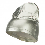 Real Fit Spandex Skull Cap - Silver