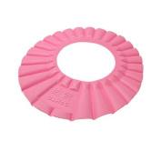 Water & Wood Pink Soft Baby Kids Bath Shampoo Shower Hat Cap
