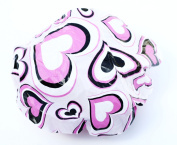 Shower Cap Fashion, Hearts, 3-Pack