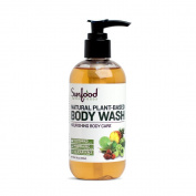 Raw Natural Plant-Based Body Wash, 240ml, , Vegan Nourishing Body Care