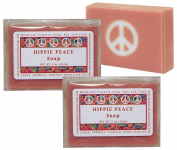 Hippie Peace (Nag Champa) Soap - 2 Pack