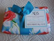 Asquith & Somerset MEADOW FLOWERS 310ml Perfumed Bath Soap, Gift Wrapped, imported from England