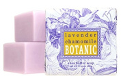 Greenwich Bay Set of 4 Botanical Soap Lavender & Chamomile Wrapped 60ml