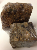 True Raw African Black Soap, Imported from Ghana Africa (2-240ml bars) 100% Pure African Black Soap