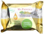 Ma Provence Organic Soap Bar Argan Oil with Calisson Perfume 75g 80ml