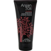 Body Drench Argan Oil Cleansing BODY SCRUB 6 fl. oz. 177 ml