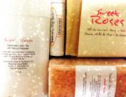 Mountain Fresh Soaps GIFT SET ~ Artisan, Organic, & All-Natural Soap, Lotion, Lip Balm, & Bath Salt