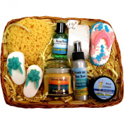 Beach Lover Spa Gift Basket
