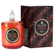 NEW! Maison Holiday Collection Boxed Candle with Glass Lid, Cinnamon Ceylon & Copal 380ml