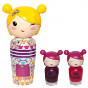 Kokeshi by VA 2 Nail Lacquers Set + EDT 50 ml Litchee I AM A PRINCESS