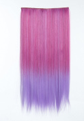PINKISS Brand High Quality Japanese Synthetic Fibre Fashion Pony Tail Wig Hair Piece Extension