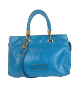 Marc by Marc Jacobs Too Hot to Handle Glazed Leather Satchel, Bermuda Palm