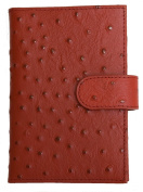 Women's Red Genuine Leather Passport Holder Kristy.X