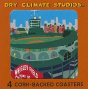 Wrigley Field Coaster Set
