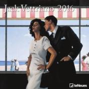 2016 Jack Vettriano 30 x 30 Grid Calendar