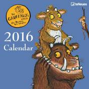 2016 the Gruffalo's Child 17.5 x 17.5 Mini Grid Calendar