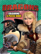 How to Train Your Dragon - Core Colouring and Puzzle Book